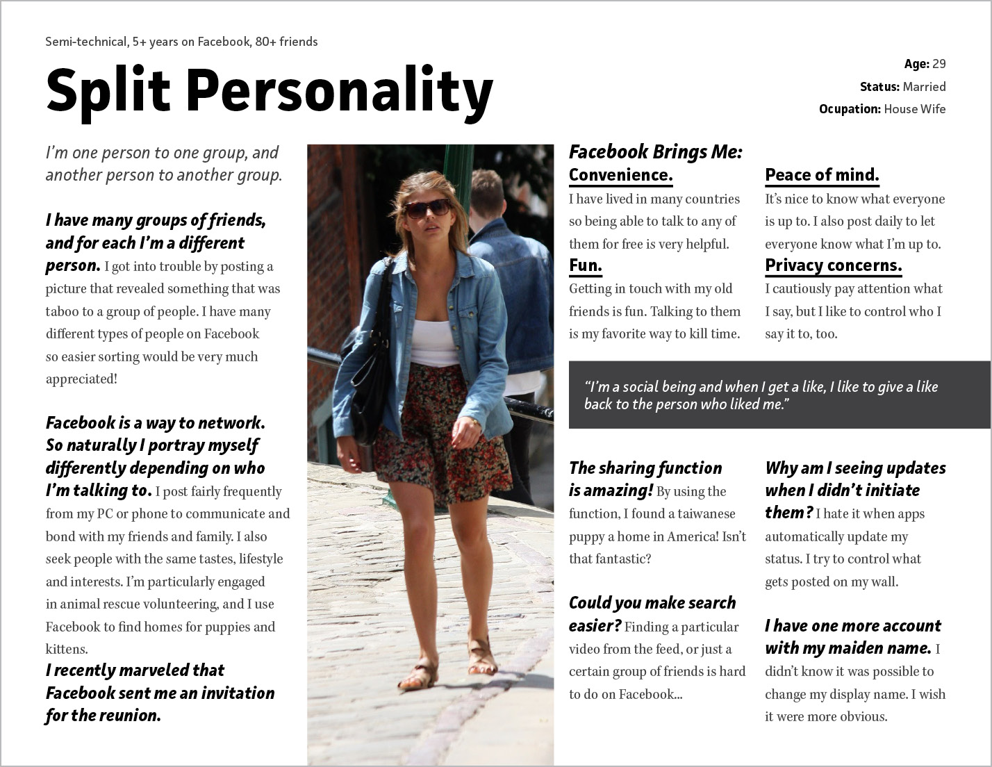 User Persona of Split Personality