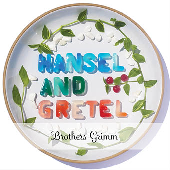 Book cover design of Hansel and Gretel